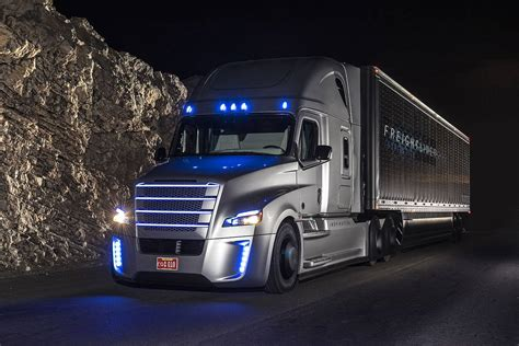 Freightliner Unveils First Self Driving Truck In The Us
