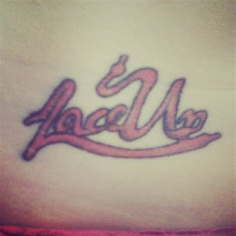 lace up tattoos abby