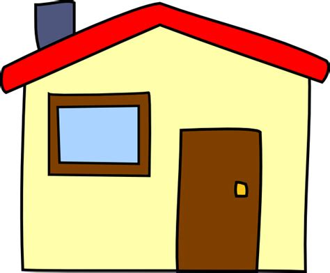 Cartoon House Simple Cartoon House Clip Art At Clker Com Vector Clip
