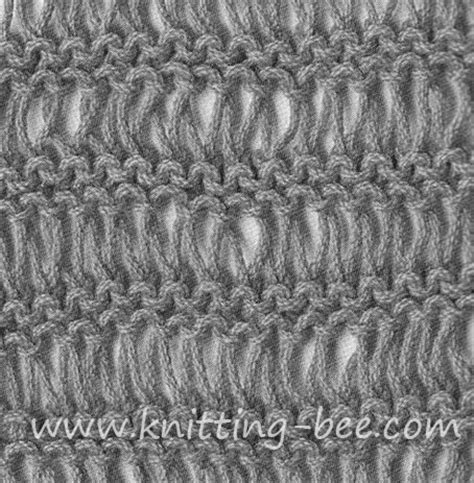 what is garter stitch in knitting terms dishcloth stitch