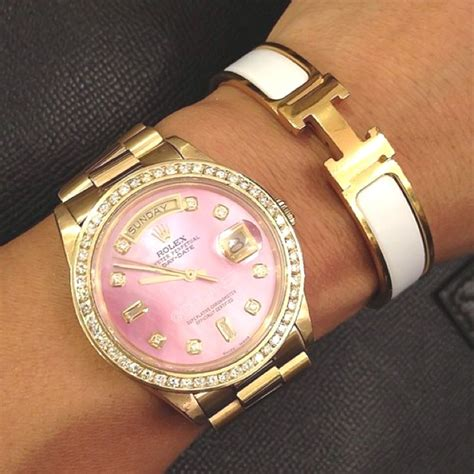 Rolex 9072 Gold List Pink shopping time for the golden list