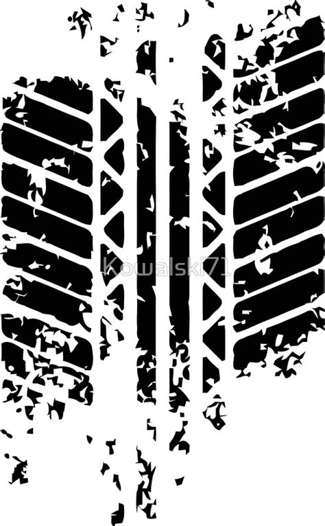 """Funny CAR Tire Mark"" Stickers by Kowalski71 | Redbubble"