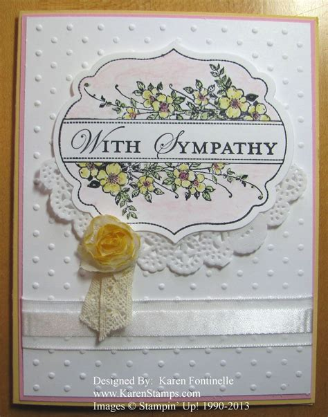 sympathy cards to make apothecary sympathy card sting with