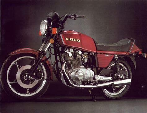 Suzuki 450cc Motorcycle Suzuki Gs 450e