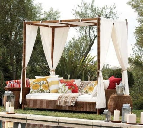 outdoor canopy beds romantic outdoor canopy beds interior design