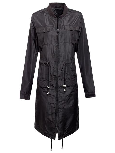 New Dc Parka Grey new womens showerproof mac parka coat zip