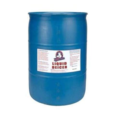 55 Gallon Drum Home Depot bare ground 55 gal liquid deicer drum bg 55d the home depot