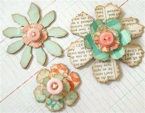 come fare fiori di carta di giornale oltre 1000 idee su fiori di carta di giornale su