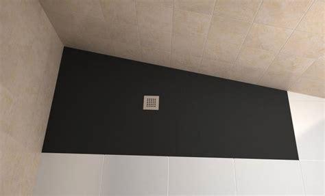bodengleiche duschtasse begehbare dusche mineralgu 223 140 x 90 badewannen24 eu