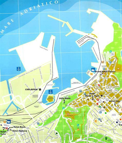 map of ancona italy map of ancona