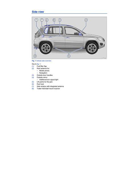 car service manuals pdf 2009 volkswagen tiguan interior lighting manual volkswagen vw tiguan volkswagen vw tiguan owners manual page 1 pdf