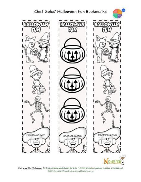 printable halloween bookmarks black white holidays 10 printable bookmark halloween coloring page for