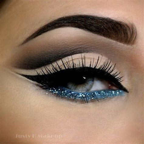 Glitter Makeup blue glitter makeup makeup evening makeup