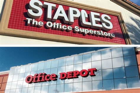 Office Depot Staples Staples Office Depot In Advanced Talks To Merge Wsj