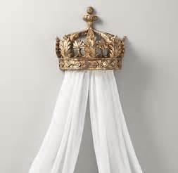 Canopy Crown For Bed Gilt Demilune Canopy Bed Crown