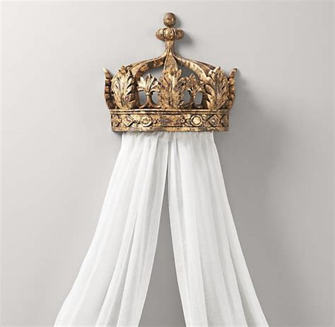 Bed Canopy Crown Restoration Hardware Laylaybabytalk