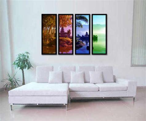 desain ruang tamu minimalis hiasan dinding kamar tamu
