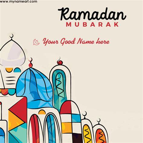 write   ramadan  image