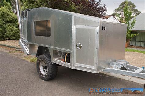 diy hard floor cer trailer plans body and canvas diy cer