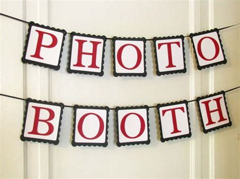 photo booth banner design photo booth banner photo booth photo booth sign paper