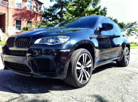 old car manuals online 2013 bmw x6 m windshield wipe control export used 2013 bmw x6 m black on white