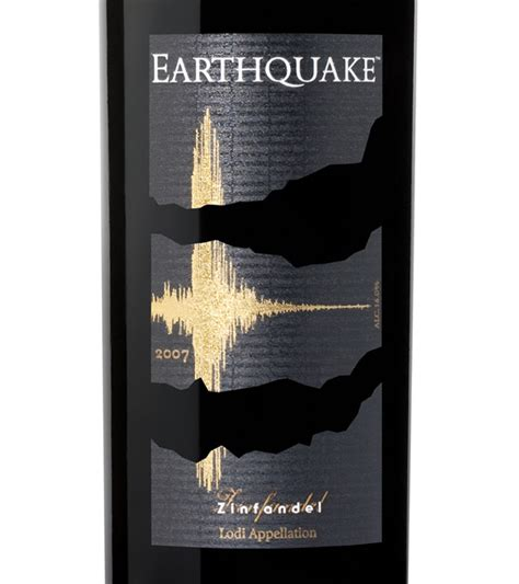 earthquake zinfandel earthquake zin zinfandel 2007 expert wine ratings and
