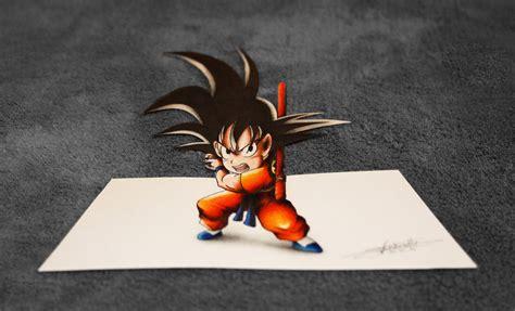 imagenes de goku en 3d kid goku 3d art by inlinespeedskater on deviantart