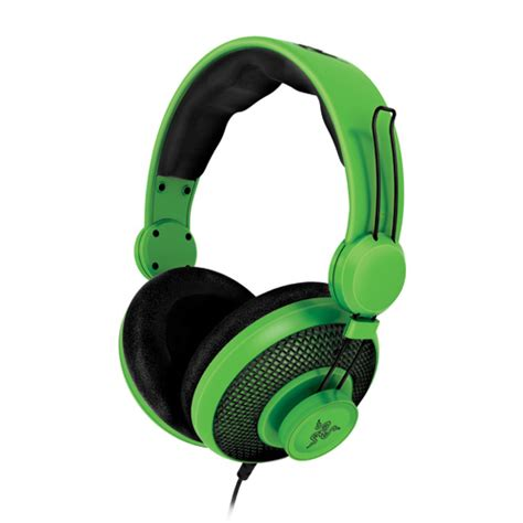 razer orca green gaming headset eventus sistemi