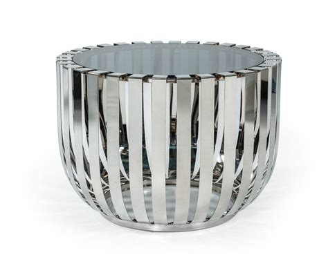 cage end table buy vig modrest cage end table in other glass top