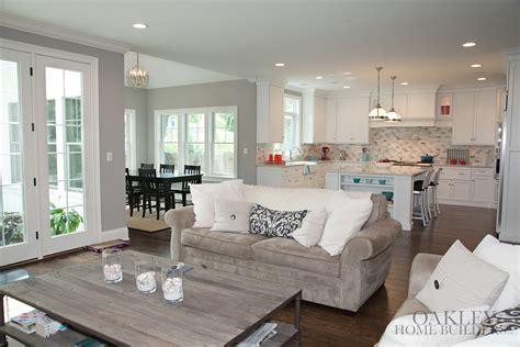 open floor plans with lots of windows open floor plan white kitchen lots of windows oakley