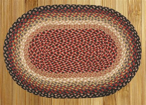 braided rug patterns 5 x 8 braided rug by earth rugs 30 pattern color choices ebay