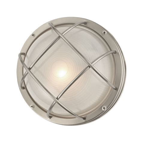Bulkhead Lights Outdoor Marine Bulkhead Outdoor Wall Ceiling Light 10 Inches Wide 39556 Ss Destination