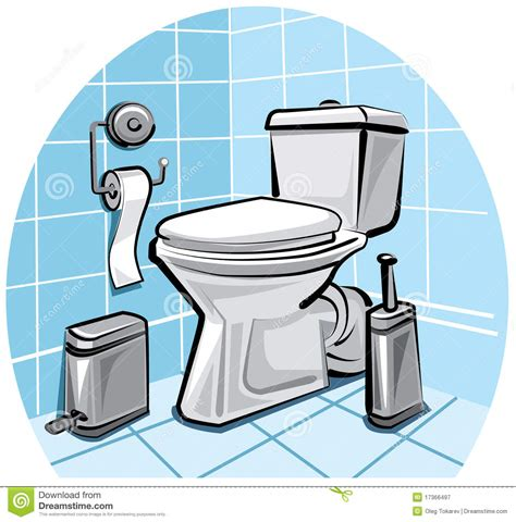 wash the bathroom toilet royalty free stock photography image 17366497