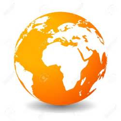 earthy orange orange globe free clipart