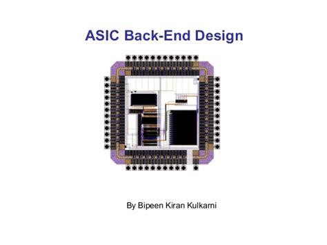 asic layout design engineer asic backend design
