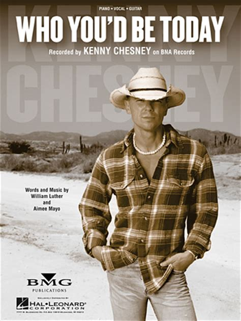 you save me kenny chesney cover who you d be today sheet music direct
