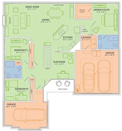 veridian homes floor plans the mason ss home plan veridian homes