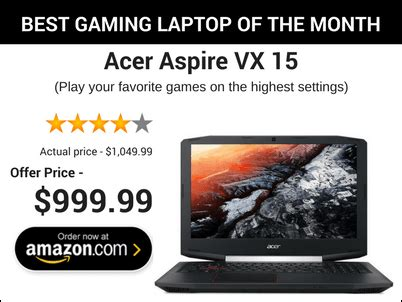 top 10 best gaming laptops under $1000 [july 2017] with