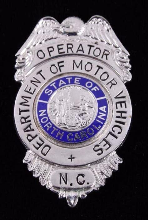 motor vehicle badges department of motor vehicles carolina badge