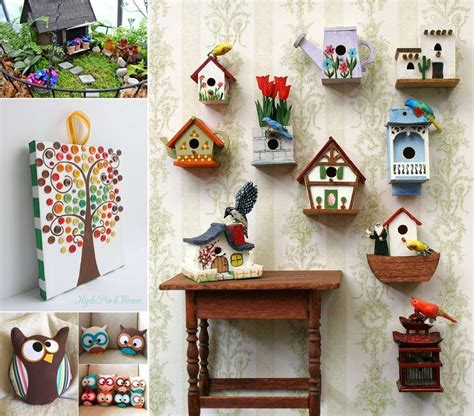 home decoration craft 15 cute diy home decor projects that you ll love