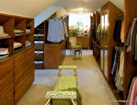 closet ideas for attic bedrooms 25 interesting design ideas and advantages of walk in closets