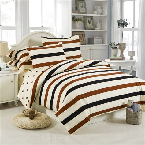 Bed Set Price Wholesale Price Cotton Bedding Set Stripes Flowers Plaid Style Bed Linen Duvet Cover Set Flat