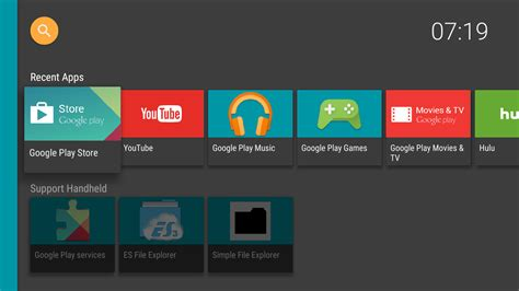 how to play from android to tv halauncher android tv android apps on play