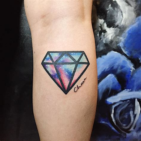 small diamond tattoos 75 best designs meanings treasure for