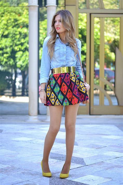 black mini skirts for