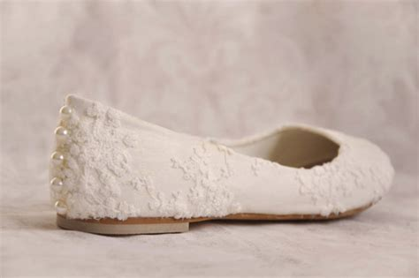 Wedding Shoes Ivory Flats by Wedding Shoes Lace Wedding Shoes Flats Ivory Lace Bridal Flats