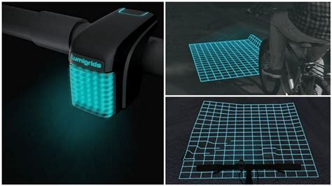 grid pattern bike light the lumigrid bicycle light is so safe and innovative