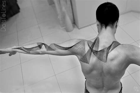 15 stunningly elegant geometric tattoo designs lines and