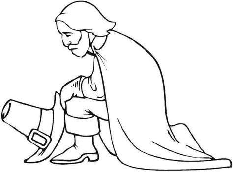 pilgrim boy coloring page az coloring pages