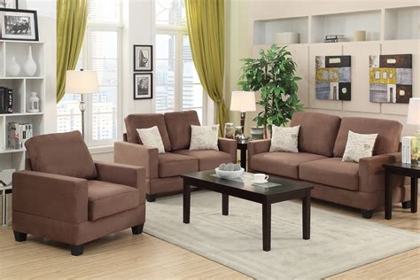sofa loveseat and chair set brown wood sofa loveseat and chair set a sofa